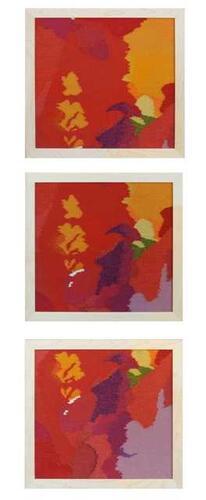 Nebula A, B, C Triptych
