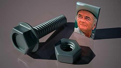 Lyndon Johnson, Bolt and Nut