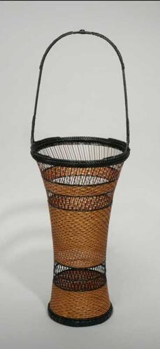 Pine Needle Pattern Flower Basket